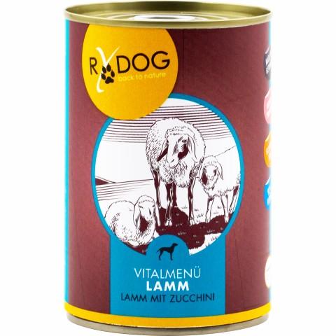 RyDog Vitalmenü Lamm neu 400g (6 Stück)